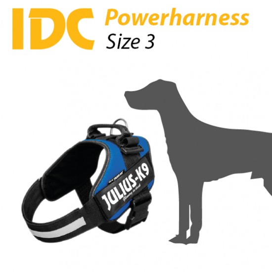 Picture of Julius-K9 IDC® Powerharness - Size: 3