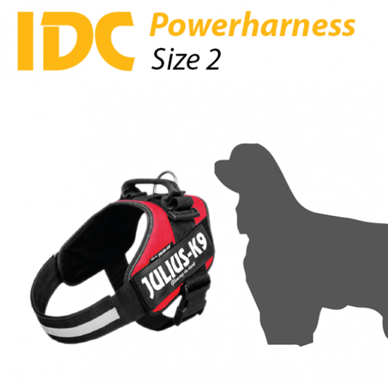 Picture of Julius-K9 IDC® Powerharness - Size: 2
