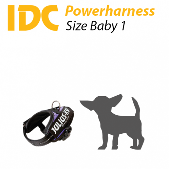 Picture of K9 Powerharness - Size: Baby1