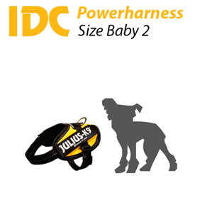 Picture of K9 Powerharness - Size: Baby2