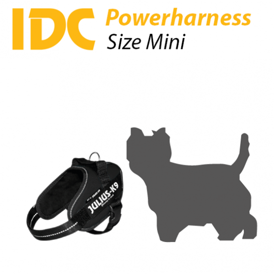Picture of Julius-K9 IDC® Powerharness - Size: Mini