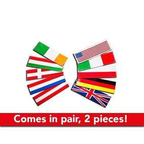 Picture of National flag labels - large