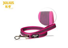Picture of Super-grip leash 20 mm / 0,78 inch, Pink-Grey - different lenghts