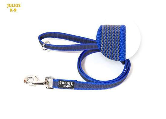 Picture of Super-grip leash 20 mm / 0,78 inch, Blue-Grey - different lenghts