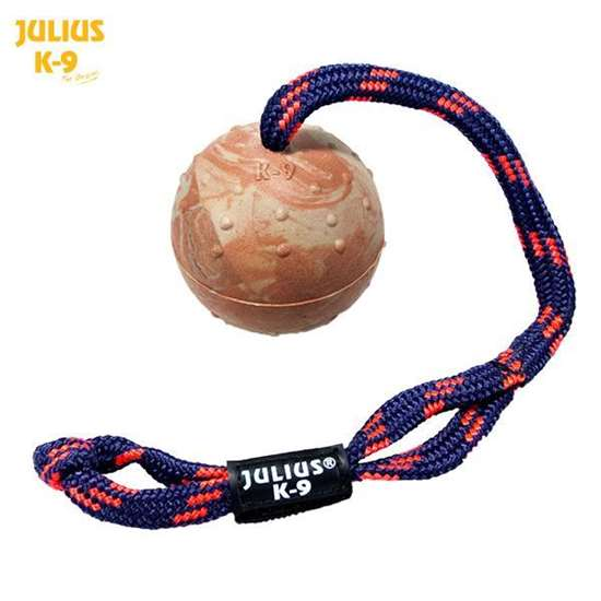 Picture of Julius-K9 IDC® Natural rubber ball with closeable string (242BLC-50)
