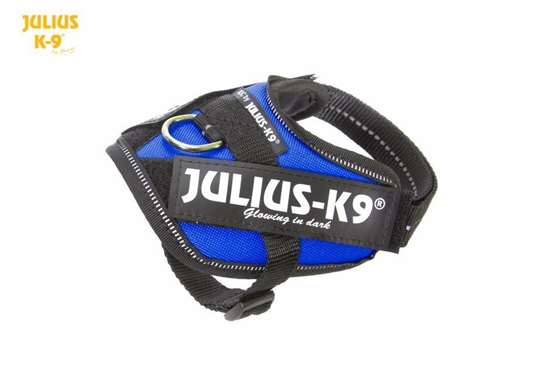 Julius-K9 IDC harness blue size baby 2