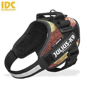 Julius-K9 IDC harness woodland size mini