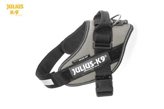 Julius K9 harness silver idc 0
