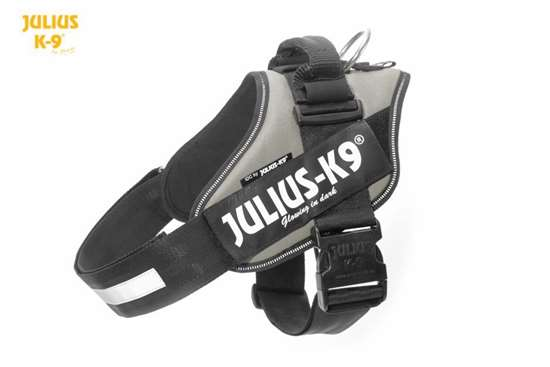 Julius K9 IDC harness silver size 3