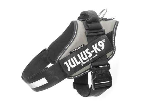 Julius-K9 IDC® Powerharness, Silver, Size 4