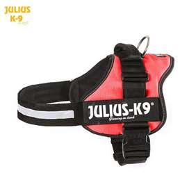 Julius-K9 harness red size 3