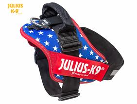 Julius-k9 IDC harness USA flag size 0