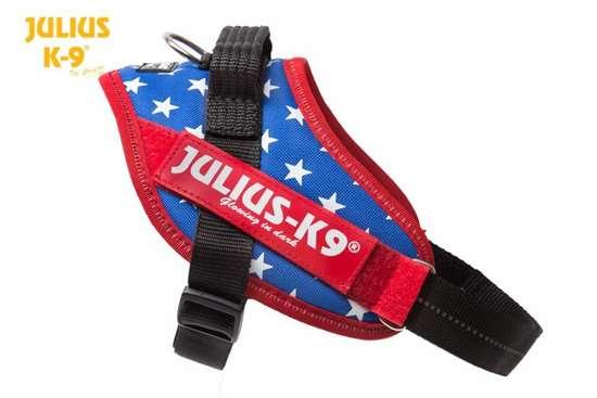 Julius-K9 IDC Flag harness USA size 2
