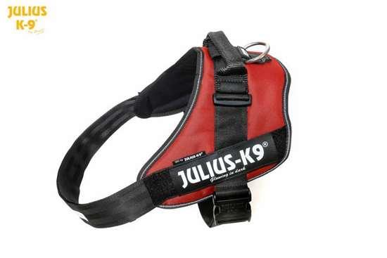 Julius-K9 IDC Powerharness Red-Brown Size: 4