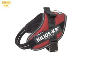 Julius-K9 IDC Powerharness Red-Brown Size: Mini