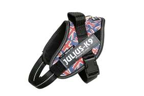Julius-K9 IDC Powerharness Union Jack, Size: Mini