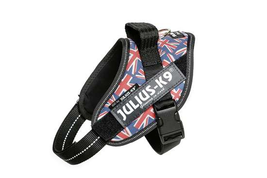 Julius-K9 IDC Powerharness Union Jack, Size: Mini-Mini