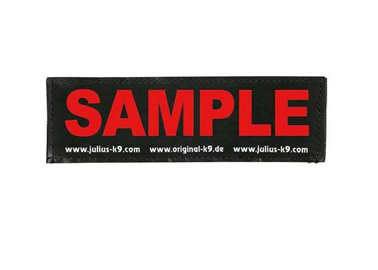 Picture of Large wish label - Red (162-LRW-G-R)