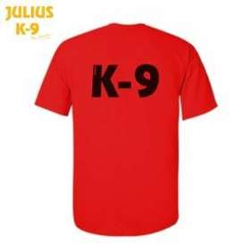 Picture of Julius-K9® Polo Shirt - Red, Size:S