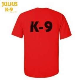 Picture of Julius-K9® Polo Shirt - Red, Size:L