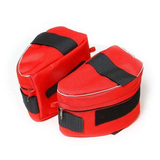 IDC Sidebag for dog harness - red