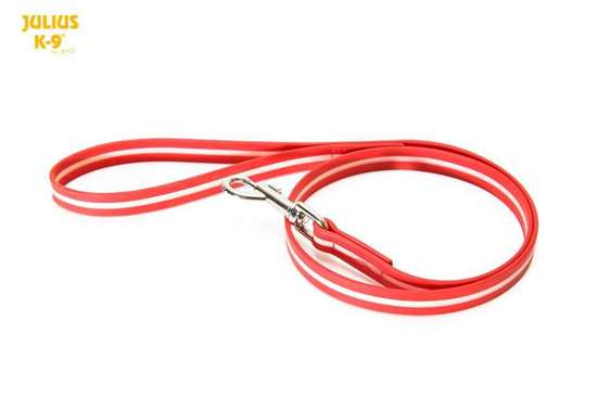Picture of IDC Lumino Leash - with handle - 2m/6.56ft - Red (216IDC-L-R-2S)