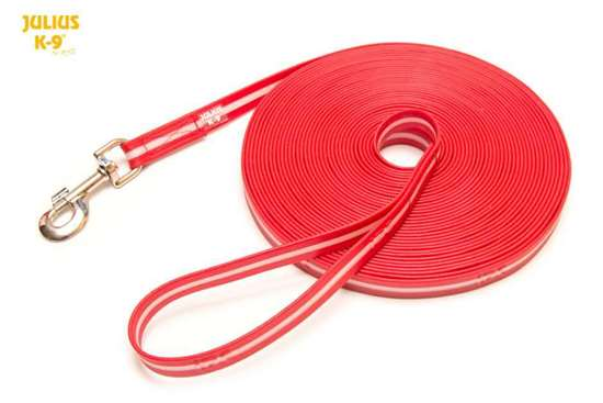 Picture of IDC Lumino Leash - with handle - 10m/32.8ft - Red (216IDC-L-R-10S)