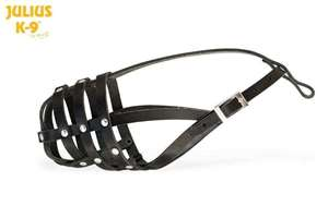 Picture of Leather muzzle - light 17112-L