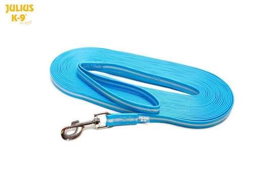 Picture of IDC Lumino Leash - with handle - 1.2m/3.9ft - Aquamarine (216IDC-L-AM-1,2S)