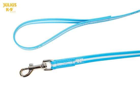 Picture of IDC Lumino Leash - with handle - 2m/6.56ft - Aquamarine (216IDC-L-AM-2S)