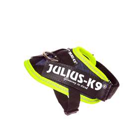 Picture of Julius-K9 IDC® Powerharness, Jeans with Neon, Size Baby 1