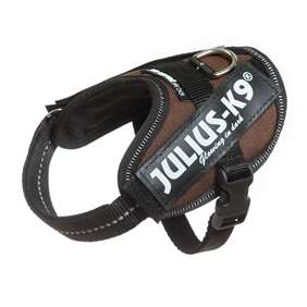 Picture of Julius-K9 IDC® Powerharness, Chocolate brown, Size Baby 2