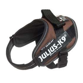Picture of Julius-K9 IDC® Powerharness, Chocolate brown, Size Mini-Mini