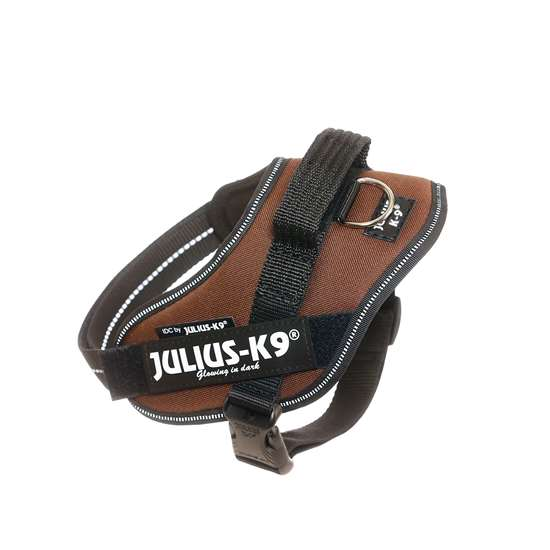Picture of Julius-K9 IDC® Powerharness, Chocolate brown, Size Mini