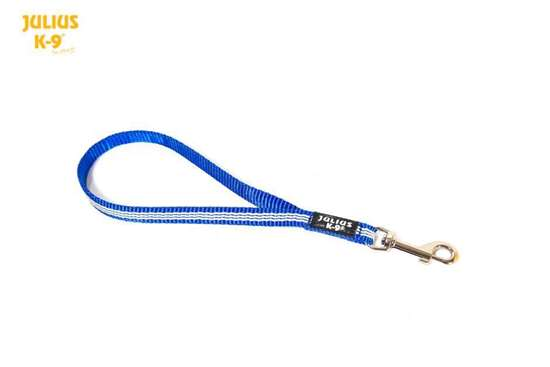 Picture of Julius-K9 IDC Tubular Webbing short leash - 35cm - Blue