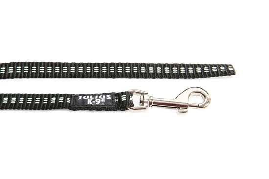 Picture of Julius-K9 IDC Tubular Webbing leash - Black - 2m - 19mm wide