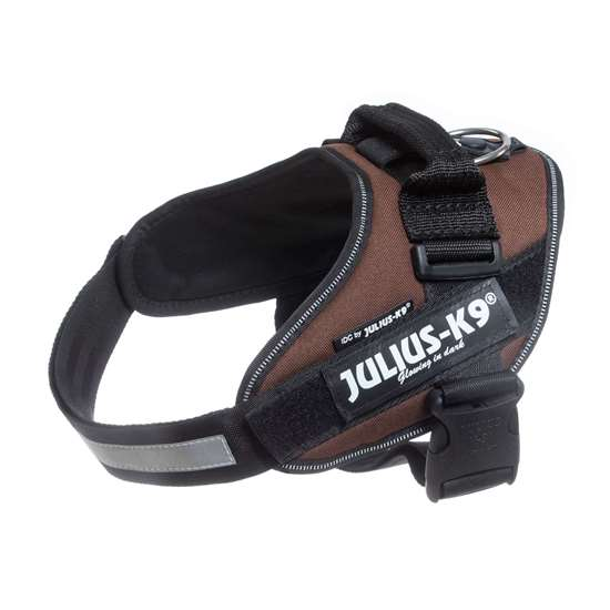 Picture of Julius-K9 IDC® Powerharness, Chocolate brown, Size 0