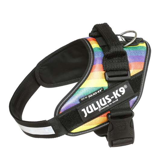 Picture of Julius-K9 IDC® Powerharness, Rainbow, Size 0