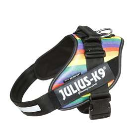 Picture of Julius-K9 IDC® Powerharness, Rainbow,  Size 2