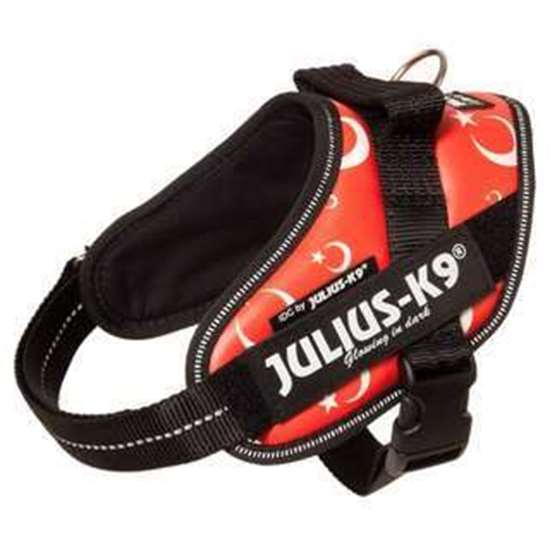 Picture of Julius-K9 IDC® Powerharness, Turkish flag,  Size 2