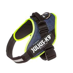 Picture of Julius-K9 IDC® Powerharness, Jeans with Neon,  Size 2