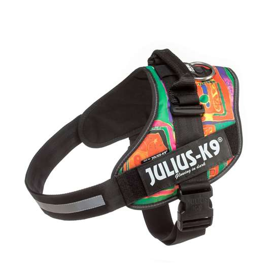 Picture of Julius-K9 IDC® Powerharness, Reggae Canis, Size 3