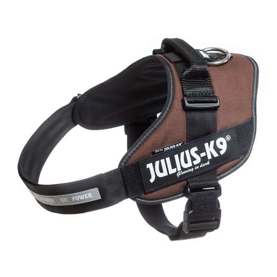 Picture of Julius-K9 IDC® Powerharness, Chocolate brown, Size 3