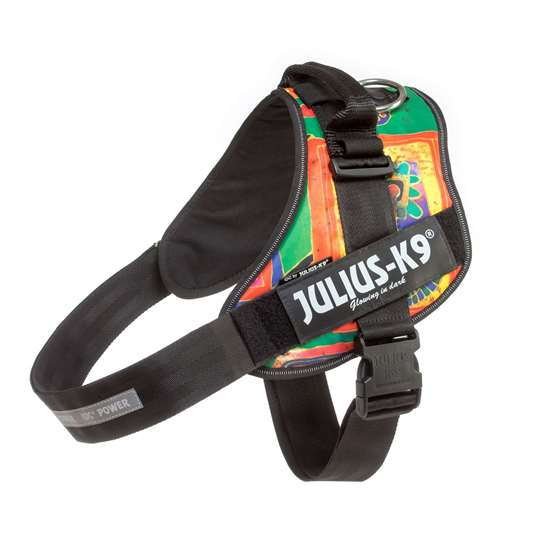 Picture of Julius-K9 IDC® Powerharness, Reggae Canis, Size 4