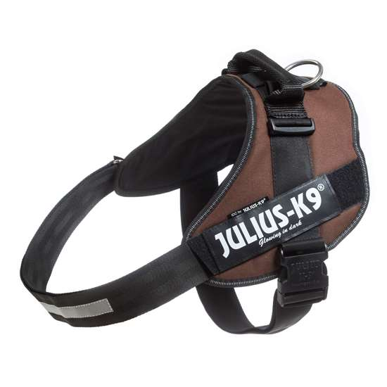 Picture of Julius-K9 IDC® Powerharness, Chocolate brown, Size 4