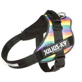 Picture of Julius-K9 IDC® Powerharness, Rainbow, Size 4