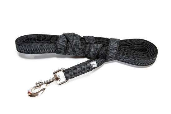 Picture of Julius-K9 Color & Gray Super Grip leash - 10 m - With handle - 20mm wide