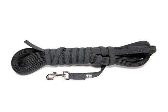 Picture of Julius-K9 Color & Gray Super Grip leash - 15 m - Without handle - 20mm wide