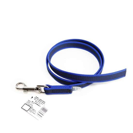 Picture of Julius-K9 Color & Gray Super Grip leash - 1 m - Without handle - Blue - 20mm wide