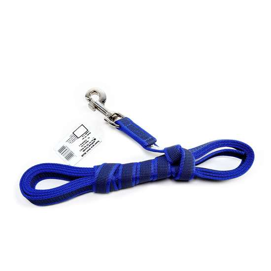 Picture of Julius-K9 Color & Gray Super Grip leash - 3 m - Without handle - Blue - 20mm wide